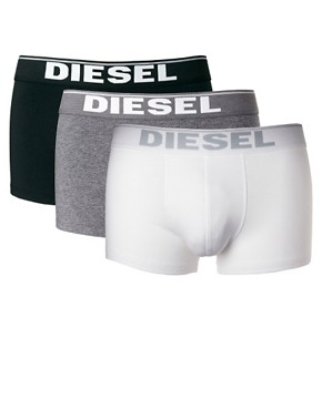 Image 1 ofDiesel Logo Waist Three Pack Trunks