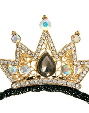 Imagen 3 de Diadema con pequea corona de Johnny Loves Rosie