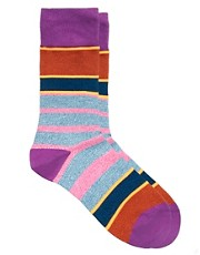 Paul Smith Twisted Neon Socks