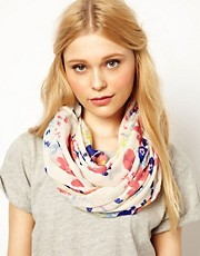 Pieces Gaiana Floral Snood