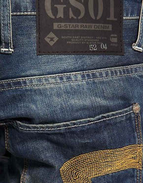 Image 4 ofG Star Heller Low Straight Jeans