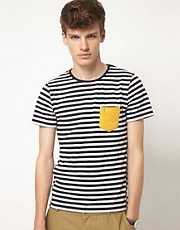 Gabicci T-Shirt Broadstairs Striped