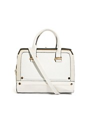 River Island Twist Top Lock Box Bag