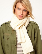 Oasis Fisherman&#39;s Ribbed Scarf