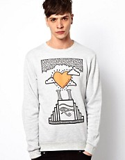 New Love Club Sweatshirt Temple