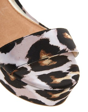 Image 2 ofRiver Island Leopard Print Wedges