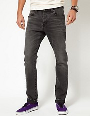 Neuw Jeans Iggy Skinny Black Rebel Air Wash