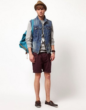 Image 4 ofRiver Island Sleeveless Denim Jacket