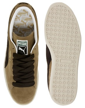 Image 3 ofPuma Suede Classic Trainers