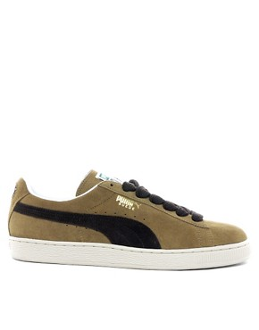 Image 4 ofPuma Suede Classic Trainers