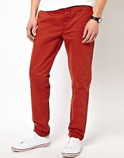 Chinos de corte slim de Minimum