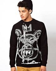 Mishka Crew Sweatshirt Guts Mop
