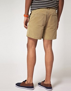 Bild 2 von ASOS  Ausgewaschene Chino-Shorts