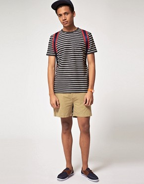Image 4 ofASOS Washed Out Chino Short