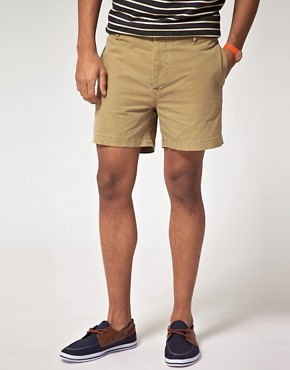 Image 1 ofASOS Washed Out Chino Short