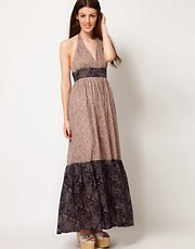 French Connection Columbine Clover Maxi Dress