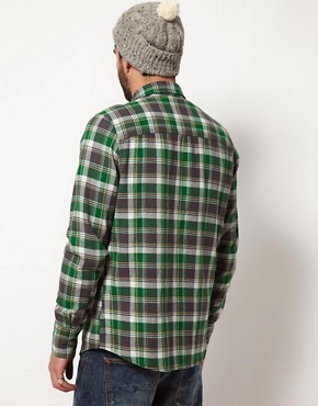 Image 2 ofNudie Organic Gunnar Check Shirt
