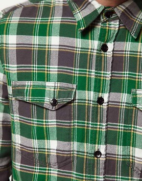 Image 3 ofNudie Organic Gunnar Check Shirt