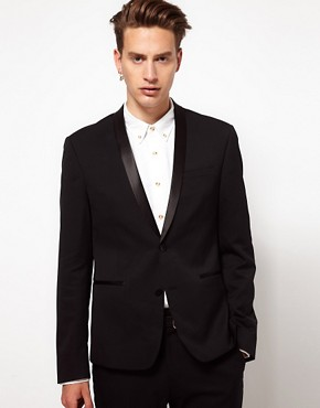 ASOS Skinny Fit Tuxedo Jacket