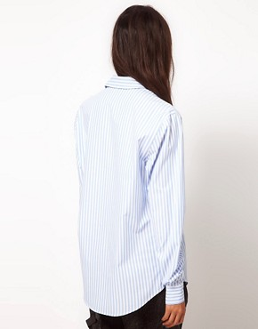 Image 2 ofASOS Stripe Men&#39;s Style Shirt