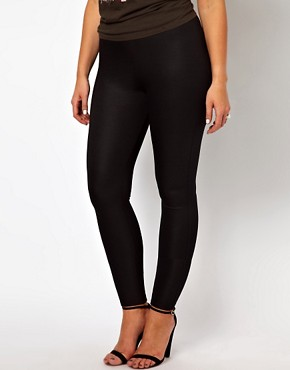 Image 4 ofASOS CURVE High Waisted Party Pant