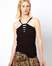 Edun Military Strap Tank