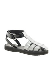 Sandalias planas estilo gladiador FUN de ASOS