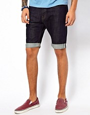Makia Denim Shorts Rinse Wash