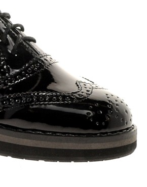Image 3 ofTimeless Built Up Sole Brogues