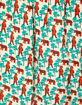 Image 3 of Paul and Joe Sister Bear Print Dress