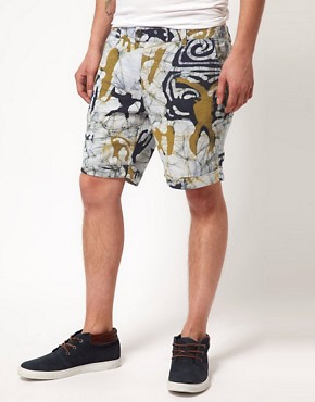 Image 1 ofVanishing Elephant Patterned Shorts