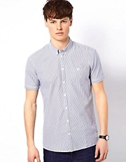 Minimum Shirt with Stripes and Short Sleeves