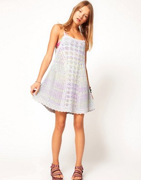 Image 4 ofASOS Crochet Dress