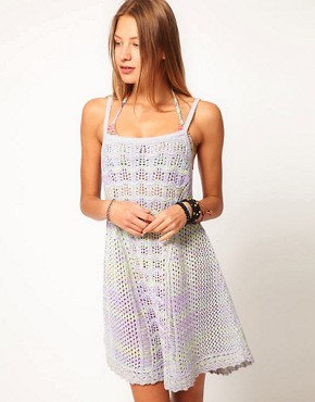 Image 1 ofASOS Crochet Dress