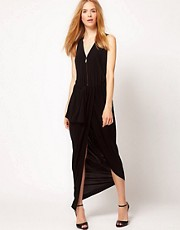 Kore by Sophia Kokosalaki Drape Zip Dress