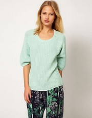 Selected Lurex Knitted Jumper