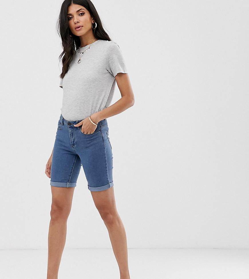 Vero Moda Tall - Short long - Bleu