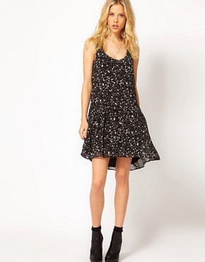 Image 4 ofMango Dipped Hem Dress