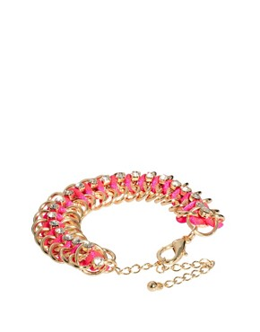 Image 2 ofRiver Island Fluro Chain Bracelet