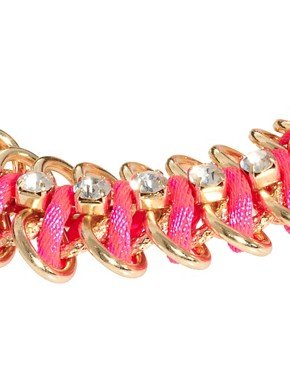 Image 4 ofRiver Island Fluro Chain Bracelet