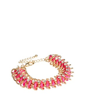 Image 1 ofRiver Island Fluro Chain Bracelet