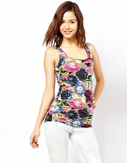Pieces Floral Print T-Shirt