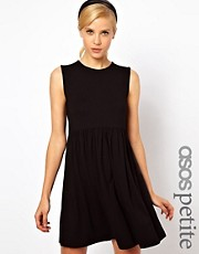 ASOS PETITE Sleeveless Smock Dress