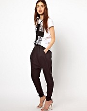 Just Female Loose Tailored Trousers