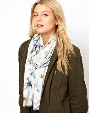 Image 1 ofOasis Digital Floral Scarf