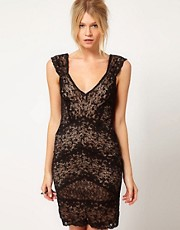 Oasis All Over Lace Dress