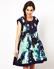 Ruby Rocks Tie Dye Smock Dress