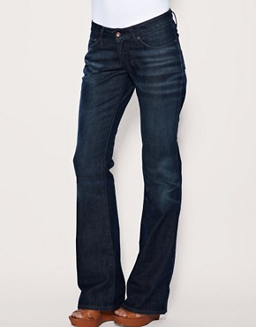 Image 1 ofLevi s Curve ID Bold Curve Mid Wash Bootcut Jeans