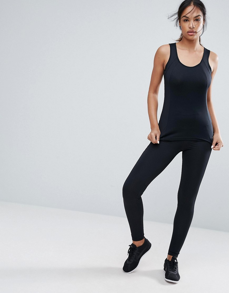 Esprit Gym Logo Leggings - Black