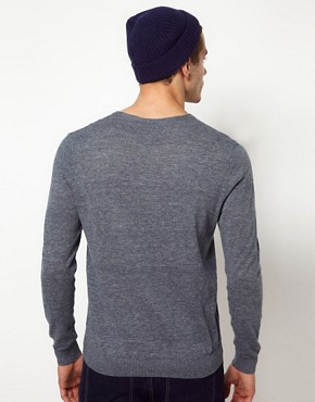 Image 2 ofASOS Notch Neck Jumper